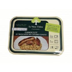 Cassoulet au manchon de canard confit