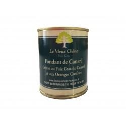 Fondant de Canard crème au Foie Gras de canard et aux oranges confites