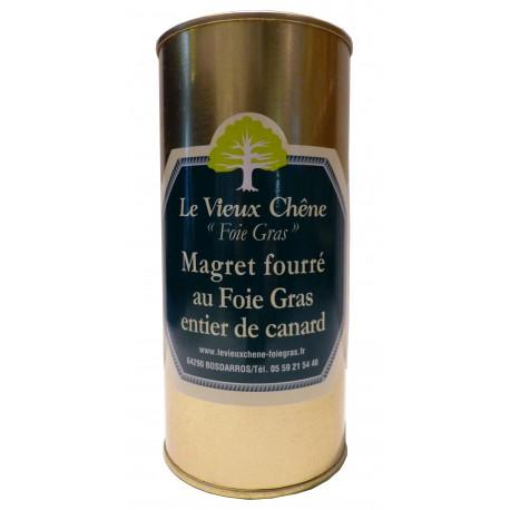 Magret fourré au foie gras entier de canard
