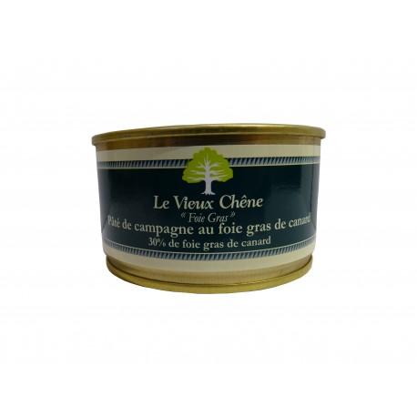 Pâté de campagne au Foie gras de canard 30% de Foie gras de canard